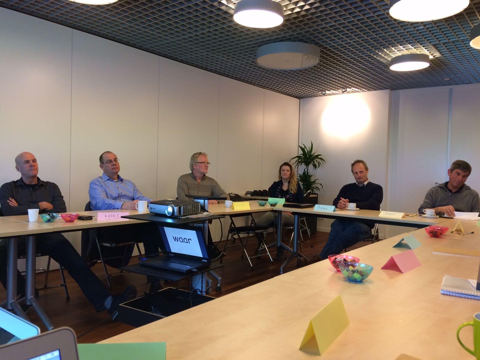 Kiekje van workshop bij SVB Amstelveen