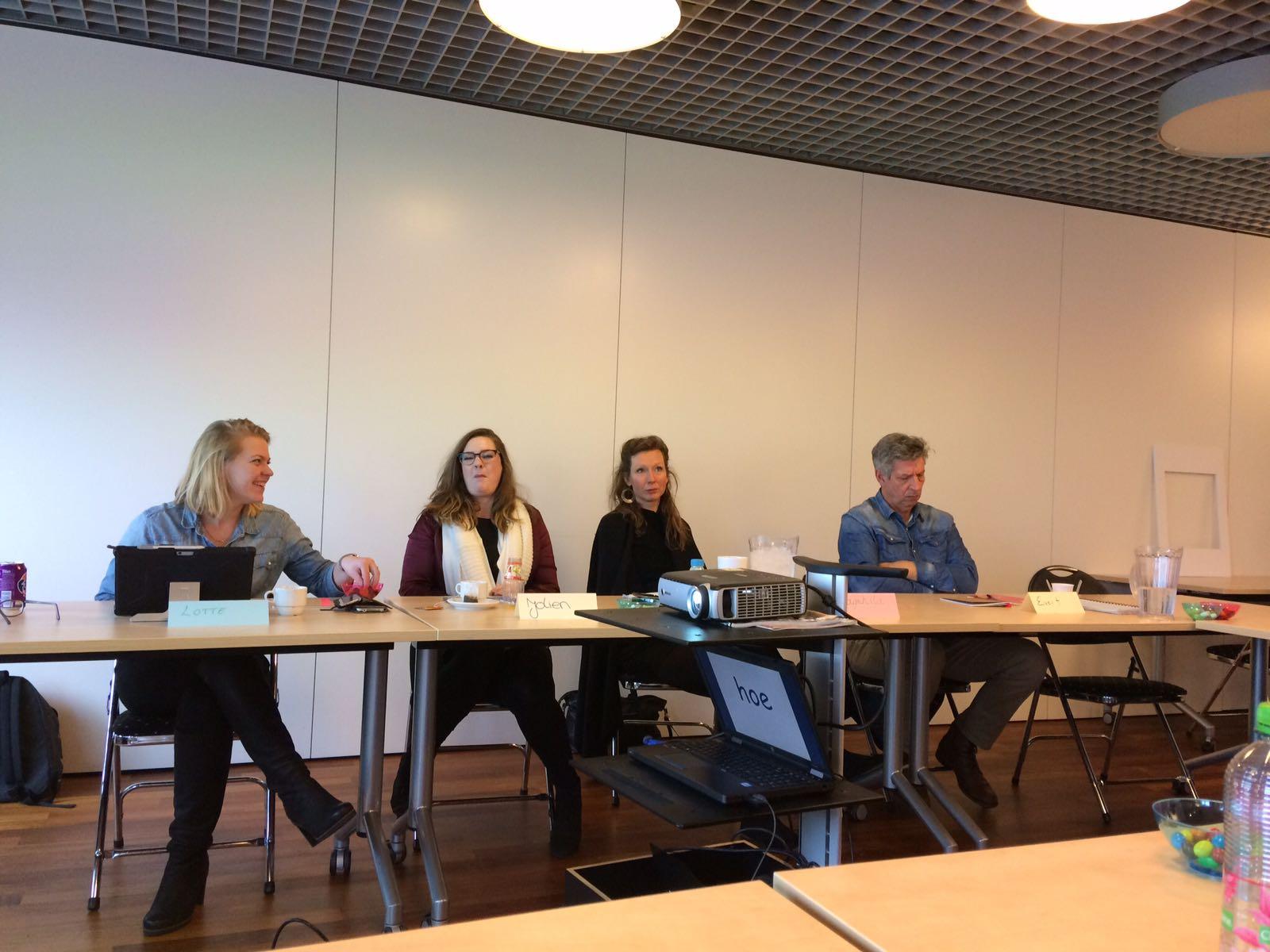 Momentje bij workshop bij SVB Amstelveen